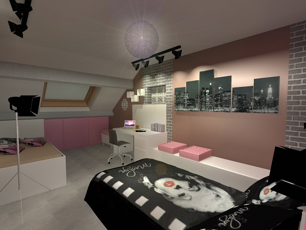 Chambre d ado 93 goeseco for Chambre fille new york