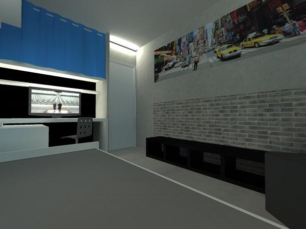Chambre garcon style urbain 162125 la for Decoration maison urbain