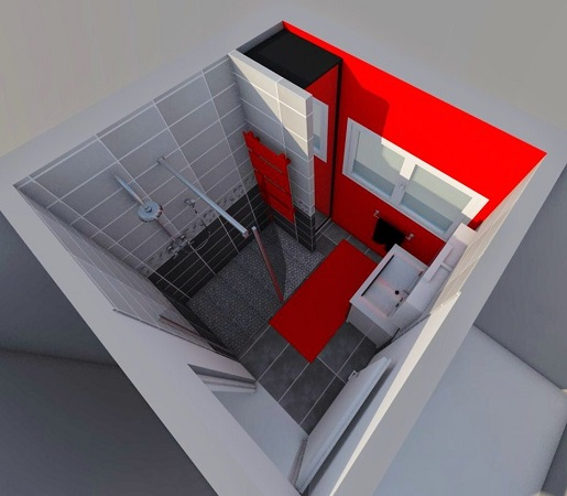 Salle de bain - perspective