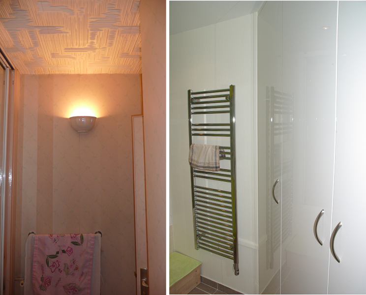 Avant – après salle de bain 2