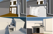 Extension en bois 19 m² (95)