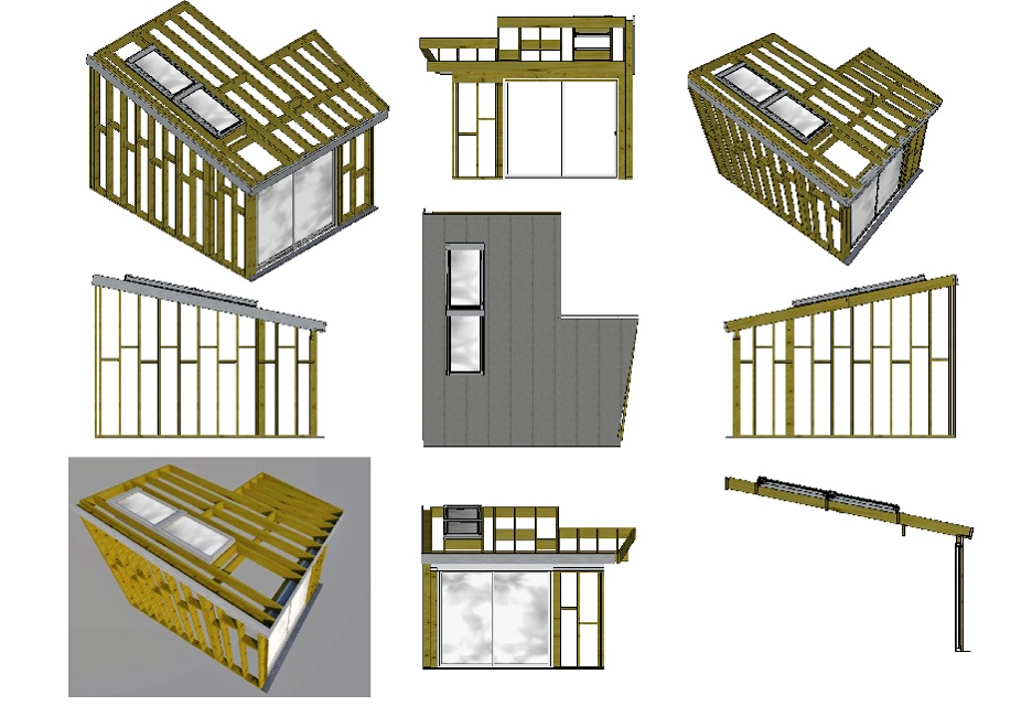 Structure bois - ossature bois