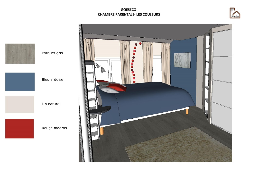 R alisations goeseco for Amenagement chambre parentale
