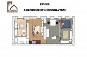 Etude d'agencement et décoration d'un étage (95)